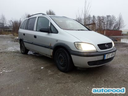 Opel Zafira photi 1
